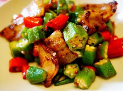 美味—秋葵小炒肉