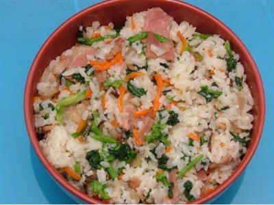 美味—咸菜肉饭