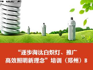 """""""逐步淘汰白炽灯、推广高效照明新理念""""培训(郑州)B"""