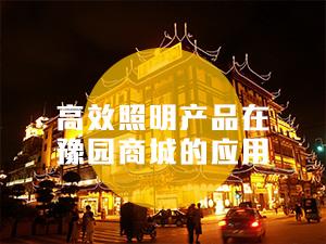 高效照明产品在豫园商城的应用