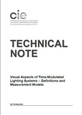 随时间变化的照明系统的视觉方面–定义及测量模型