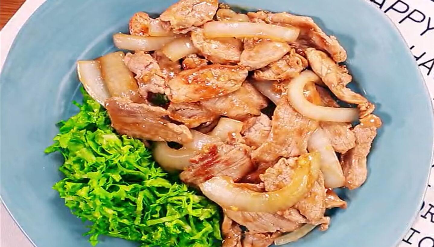 美食—姜汁烧肉