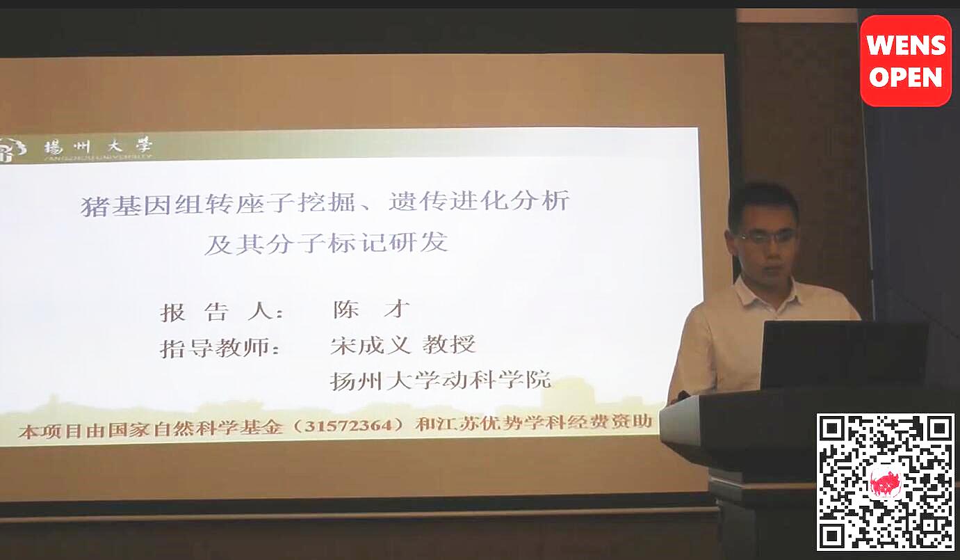 陈才-猪基因组转座子挖掘、遗传进化分析及其分子标记研发
