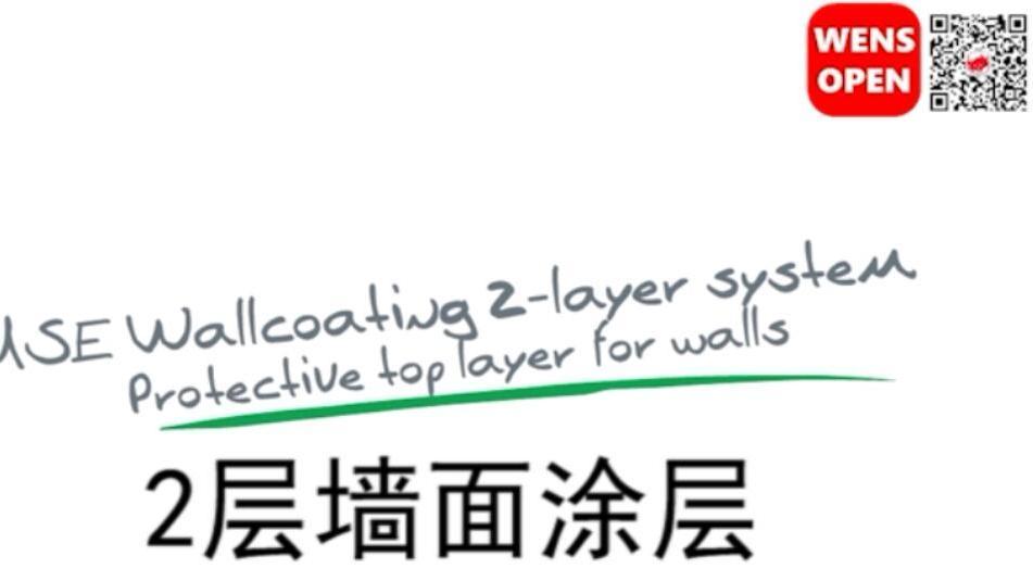 2层墙面涂层系统(中文字幕)