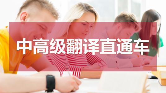 中高级翻译直通车(随报随学班)