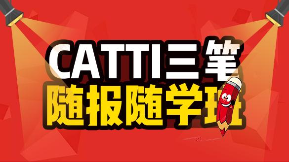CATTI三笔随报随学班