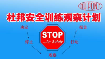 杜邦安全训练观察计划(STOP)