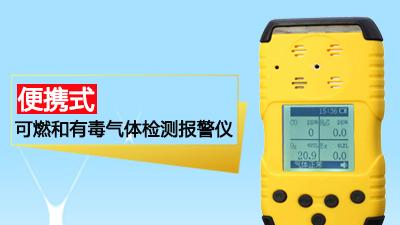 便携式可燃和有毒气体检测仪