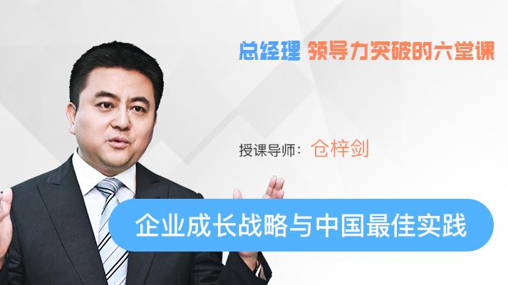 仓梓剑:企业成长战略与中国