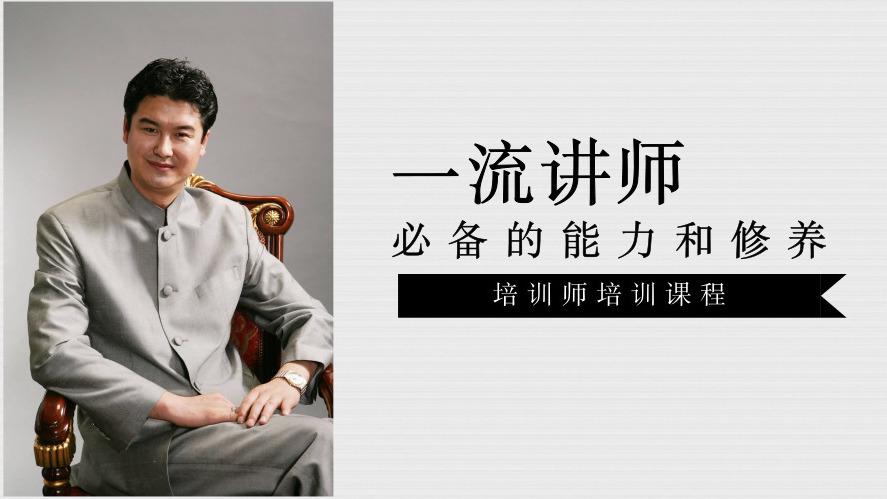 李强-培训师必备的能力和修养