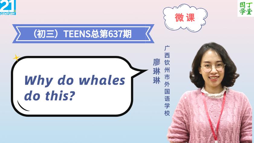 微课(初三)TEENS总第637期(2020-21学年第7期)